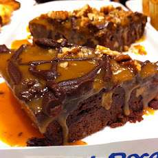 Caramel-Filled Brownies