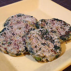 Masala Mustard Greens Patties