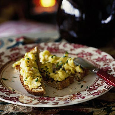 Gentlemen's Relish & Scrambled Eggs