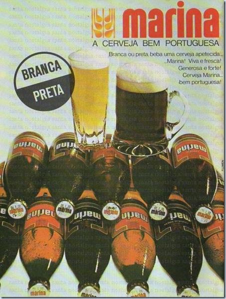 publicidade nostalgica cerveja marina
