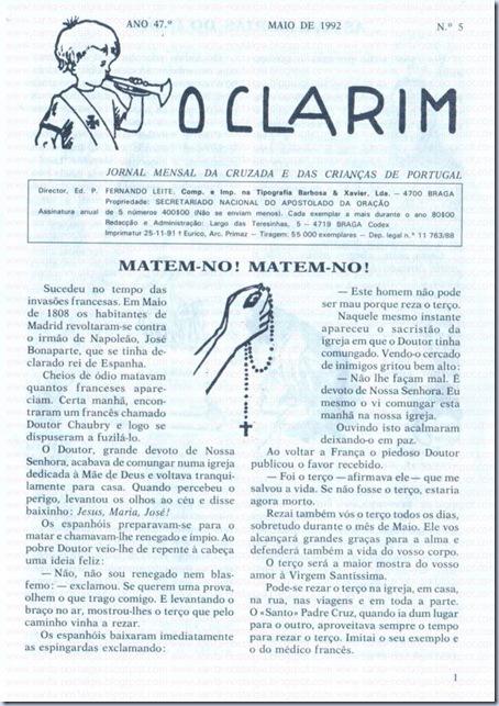jornal o clarim santa nostalgia 02