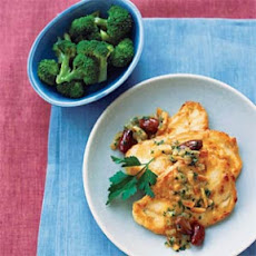 Orange-Olive Chicken Scaloppine