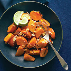 Persimmon Salad with Dates, Cashews, and Honey