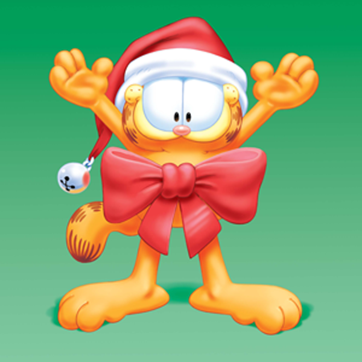 A Garfield Christmas Live WP LOGO-APP點子