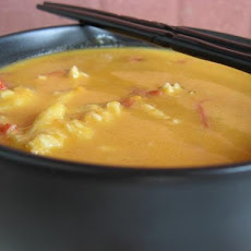 Thai Sweet Potato with Crab Soup