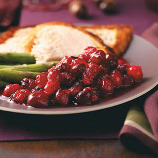 Maple-Honey Cranberry Sauce