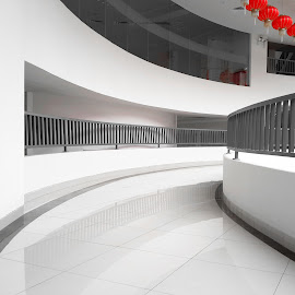 by J W - Buildings & Architecture Architectural Detail ( selective color, pwc )