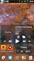 Screenshot of the autumn fall leaves LWP