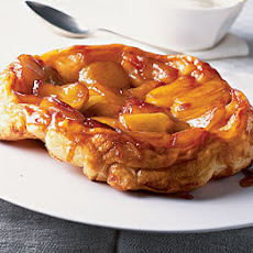 Tart Tatin With Brandy Cream