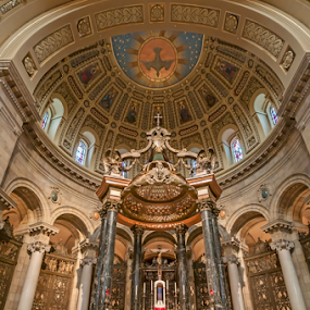 Cathedral by Andy Chow - Buildings & Architecture Places of Worship ( altar, church, st paul, cathedral, building, interior, worship )