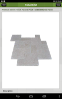 Screenshot of Travertine Mart Patio Designer