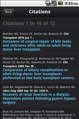 【免費醫療App】Mobile Abstracts-Search PubMed-APP點子