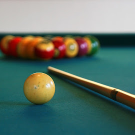 Pool Anyone? by Krys George - Novices Only Objects & Still Life ( stilllife, billiard, still life, close up, bokeh, closeup,  )