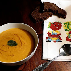 Crushy Carrot Soup with Ginger & Cumin