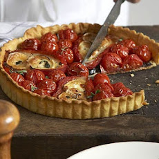 Goat's Cheese & Red Pepper Tart