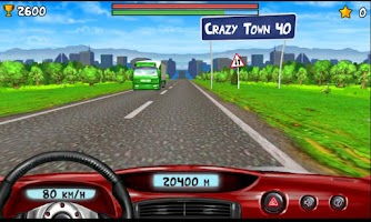 Screenshot of Crazy Drive
