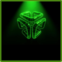 Green Blade Theme GO Launcher icon