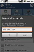 Screenshot of Call Blocker Gold