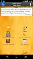 Screenshot of Bible en français Louis Segond