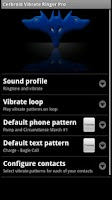 Screenshot of Cerbroid Vibrate Ringer Pro