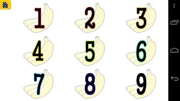 Screenshot of Afrikaans Toddler Counting