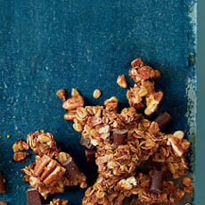 Chocolate-Pecan Pie Granola