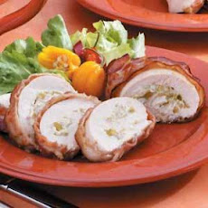 Bacon-Wrapped Chicken (green chilies)