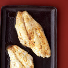 Broiled Snapper with Paprika Butter