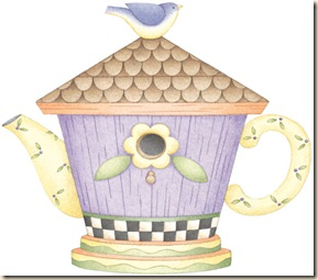 Birdie Cottage Teapot