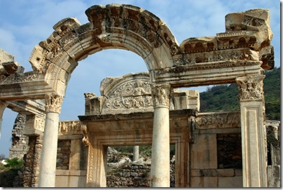 Buildings in Ephesus.