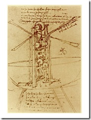 Drawing-of-a-Flying-Machine