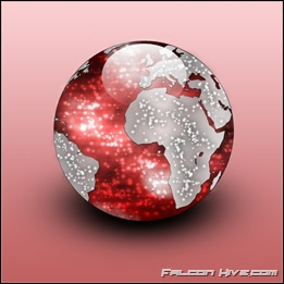 World Icon red