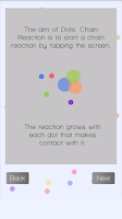 Screenshot of Dots: Chain Reaction