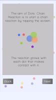 Screenshot of Dots: Chain Reaction
