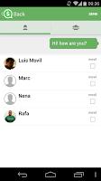 Screenshot of Quack! Messenger