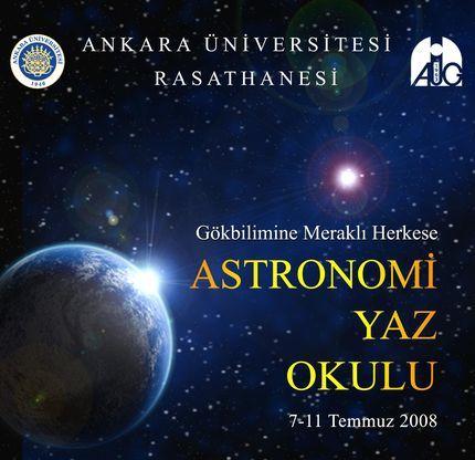 Ankara Üniversitesi Rasathanesi Astronomi Yaz Okulu