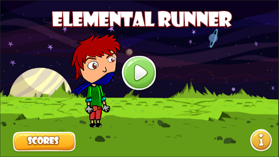 Elemental Runner - screenshot