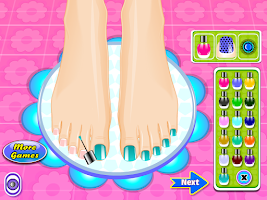 Screenshot of Beauty Salon Nail Games