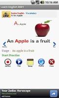 Screenshot of Learn English D001