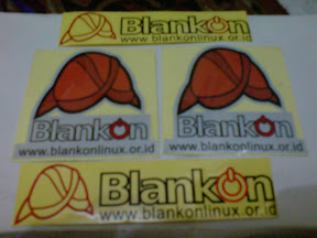 BlankOn Sticker