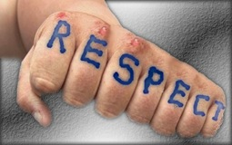 Respect fist 2
