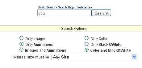 Ricerca mirata di immagini con Picsearch