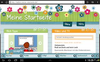 Screenshot of Meine-Startseite