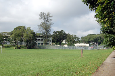 Site of what used to be RAF Chnagi Primary School