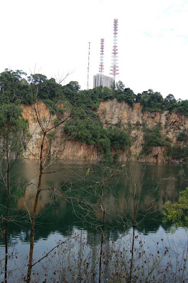 Quarry and VHF station