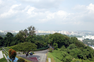 From Jurong Hill towards Jurong Town