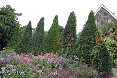 Topiary spikes
