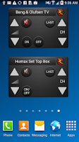 Screenshot of ZappIR Universal IR Remote
