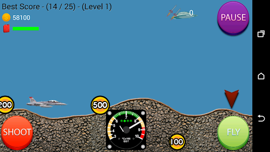 Jet Fight UFO - screenshot