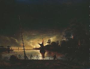 RIJKS: Anthonie van Borssom: painting 1677